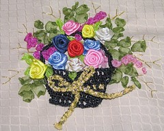 sepet güller nakış
