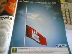 Wir freuen uns auf einen Sieg des BVB.