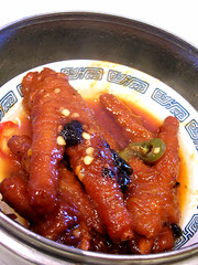 new concept chicken feet