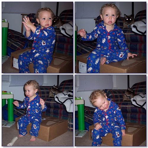 Fun With Boxes or Look How Cute My Kid Is