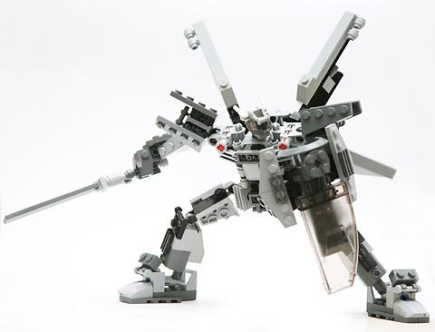 lego mech suit building instructions