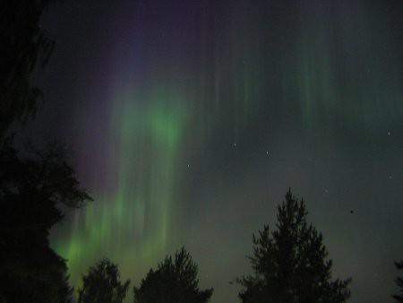Ver la aurora boreal en directo es impresionante