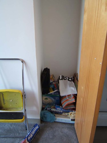 Pantry, before