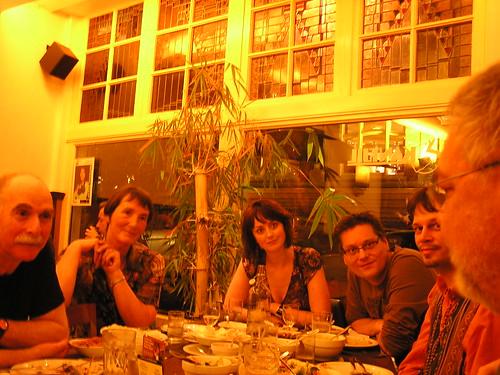 Brainstormers dining