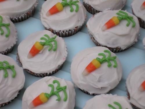 Autumn Carrot Cupcakes