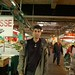 Ishir admires the produce in Jean Talon