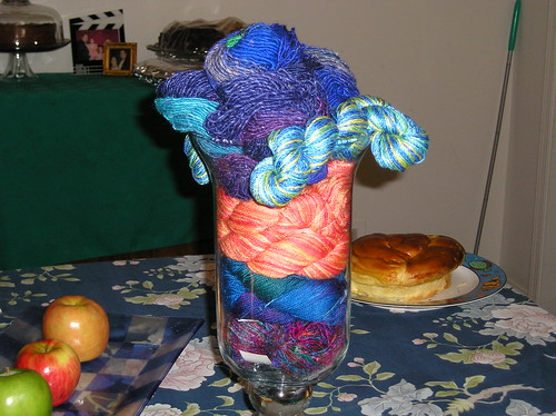 Yarn Centerpiece