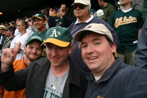 Three Baseball-Goers