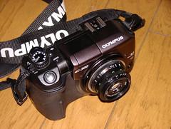 E-300と変態レンズ