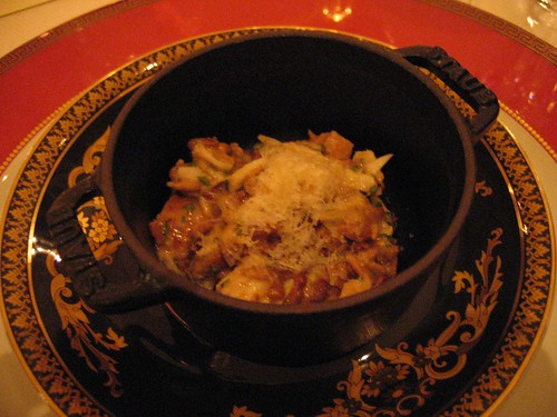 IdeasinFood - Sunflower Seed Risotto w/ Jumbo Lump Crabmeat, Matsutake Mushrooms, & Fiore Sardo