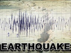 Earthquake News Graphic