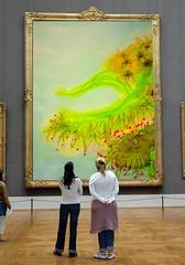 Fada Moranga at the Louvre   :-) photo by Moranga