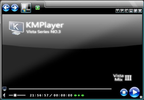 KMPlayer skin – 相当漂亮的KMP皮肤