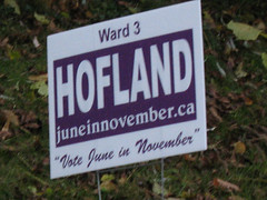 Municipal Election Sign 26