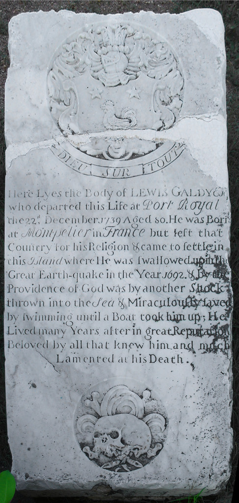 Tombstone of the man who was buried twice