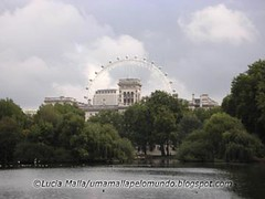 London Eye visto do Hyde Park