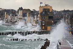 Grande marée à Saint-Malo photo by Corinne Queme