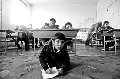 """Guest Photographer February topic """"Education"""" jury winner is """"Thirst for knowledge in asylum conditions"""" by Hristo Rusev"""