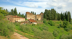 Castello del Trebbio - Via Santa Brigida, 9 - 50060 Santa Brigida (Florence) - Tuscany - Italy photo by Minoltakid