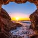 Best Malibu Sunset! Red, Yellow, Orange Clouds! Magical El Matador Beach Sunset! Nikon D810 HDR Photos Dr. Elliot McGucken Fine Art Photography!  14-24mm Nikkor Wide Angle F2.8 Lens