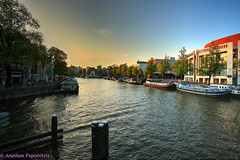 Singel Autumn Sunset in HDR photo by anastase.papoortzis
