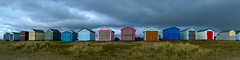 Stormy Beach Huts (Explored) photo by fstop186