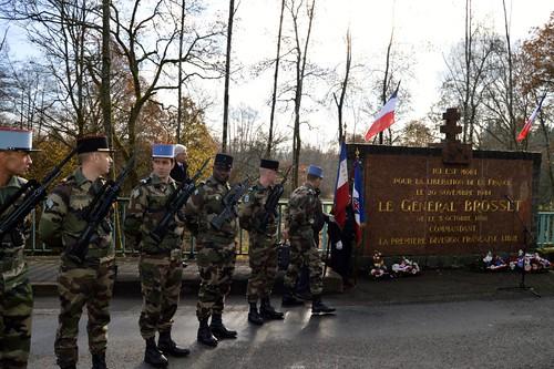 Champagney - Commémoration- 20 novembre 2014 - Accueil de la Délégation AFCL par le Souvenir Français et la Mairie de Champagney - Serge Robert
