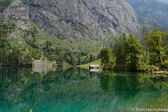 Landscape of Lake Obersee in the Berchtesgaden National Park photo by timohannukkala