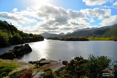 Killarney Lake under backlight (Ireland) photo by My Wave Pictures