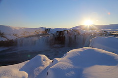 Godafoss Waterfall, Myvatn, North-Central Iceland photo by virt_