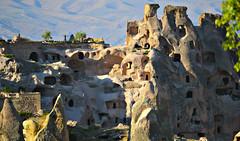 Cave town near Uchisar, Turkey [Explore] photo by Fatima Kazmi