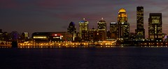 Louisville's evening skyline photo by michaelboylan146