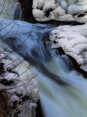 Winter Waterfall 4 photo by bjorbrei