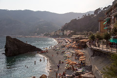 Beach, Monterosso Al Mare, Cinque Terre, Liguria, Italy photo by virt_