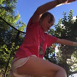 Jumping over Dad<br/>17 Jul 2016
