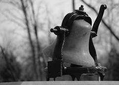 the old railroad bell photo by LotusMoon Photography
