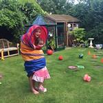 Fun in the garden<br/>16 Jul 2016