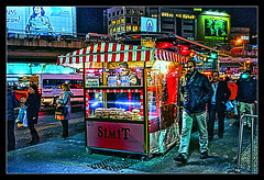 Late night snack shack in Istanbul photo by tim constable