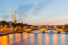 Vue sur la tour Eiffel, Paris photo by Philippe Dehennin