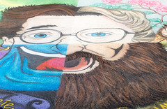 Street Painting Tribute to Robin Williams photo by SDRPhoto321