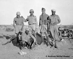1942 - Michel Abalan avec le calot - Famille Abalan