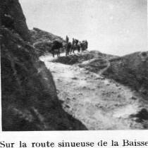 Authion - Avril 1945- route-sinueuse-de-la-baisse-de-saint-véran-aux-trois-communes