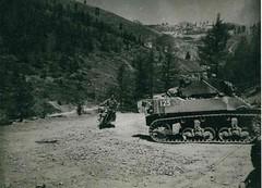 Authion- 15 avril 1945 - Descente vers la Beole -  Fonds François Engelbach