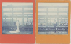 #polaroid #sx70 #TIP #wedding  #theimpossibleproject #px70 photo by 我的嘴唇比牛雜還柔軟