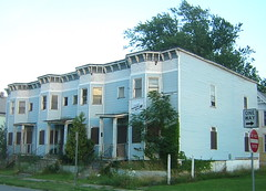Woodlawn Row Houses - August, 2006