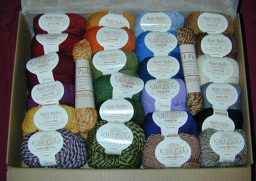 Knitpicks Andean Silk Sampler