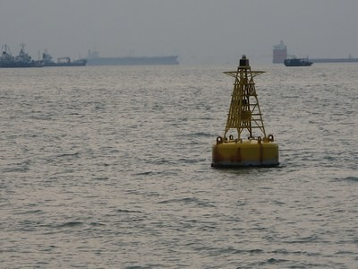 Buoy At Sea