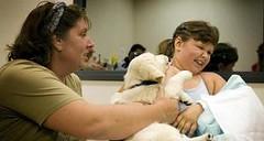 Dierenbezoek in Utrechtse ziekenhuis