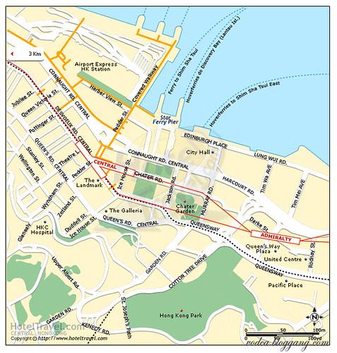 HK map:Central District