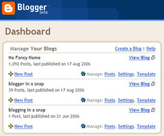 switched to blogger beta